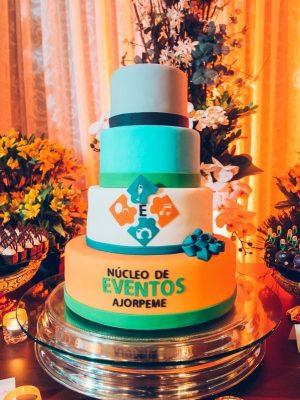 Gâteau corporatif pour le nucléo de évènement - Montréal - Québec - Corporate cakes
