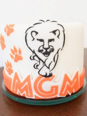 Gâteau lion corporatif MGM - Montréal - Québec - Corporate cakes (7)