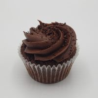Cupcake Au chocolat Garni de dulce de leche- Chocolate cupcake with dulce de leche fillling