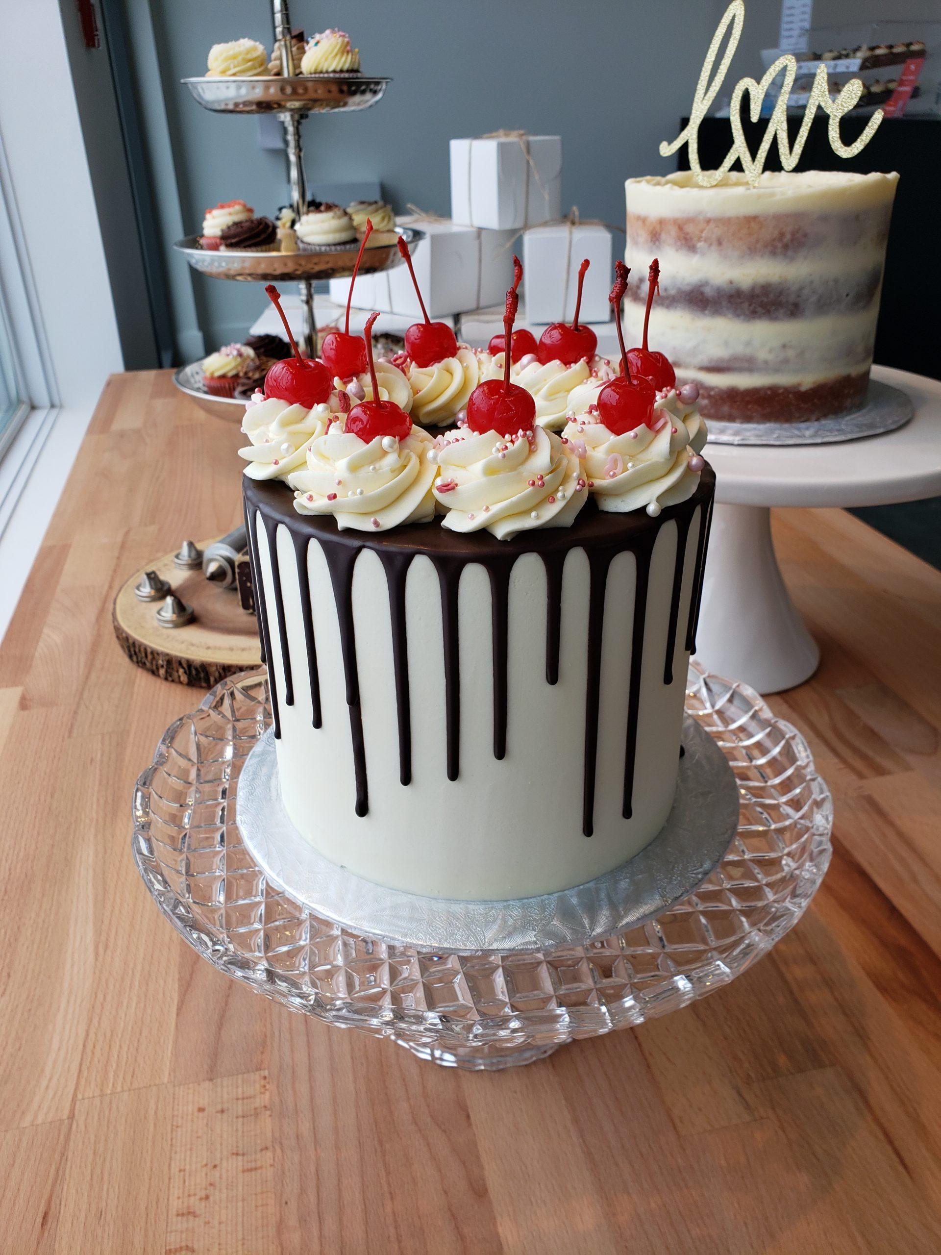 Gâteau festif à la vanille- anniversary vanilla cake